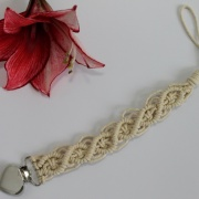 Speenkoord twisted macrame
