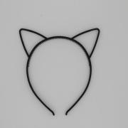 Zwarte diadeem kattenoren