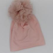 Muts pompom pink