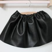 Leather look rokje