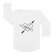 Shirt Mommy Heart wit