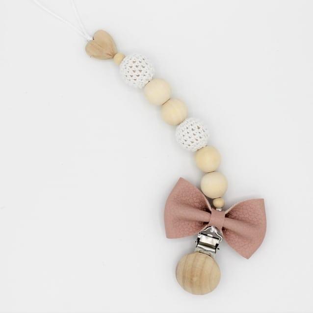 We love bows! Ook aan een speenkoord dit speenkoord ishellip