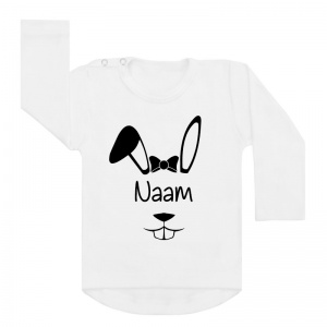 shirt easterbunny girly wit