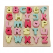 Little Dutch letterpuzzel roze