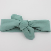 Wrap haarband mint groen