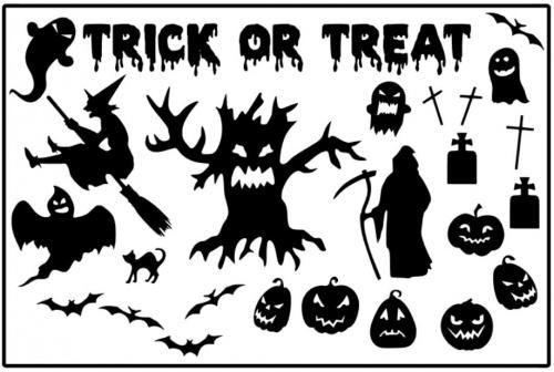 raamsticker halloween
