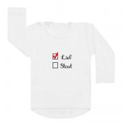 shirt wit lief stout