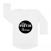 Sinterklaas shirt wit mini pietje