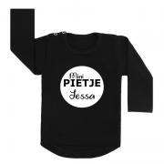 Sinterklaas shirt zwart mini pietje