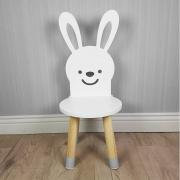 Houten stoeltje bunny