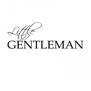 Strijkapplicatie little gentleman