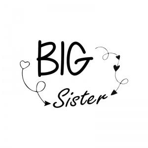 strijkapplicatie big sister arrows