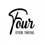 Strijkapplicatie four ever young