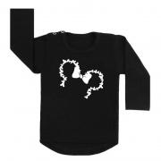 minnie mouse shirt zwart