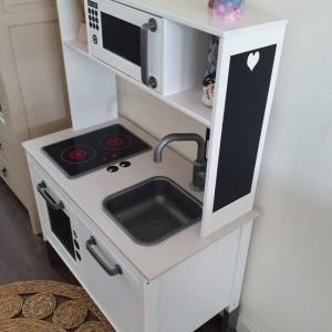 Keuken Sticker krijtbord zijkant
