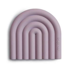 Mushie bijtspeelgoed regenboog roze