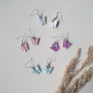 Kinderoorbellen vlinder hangers
